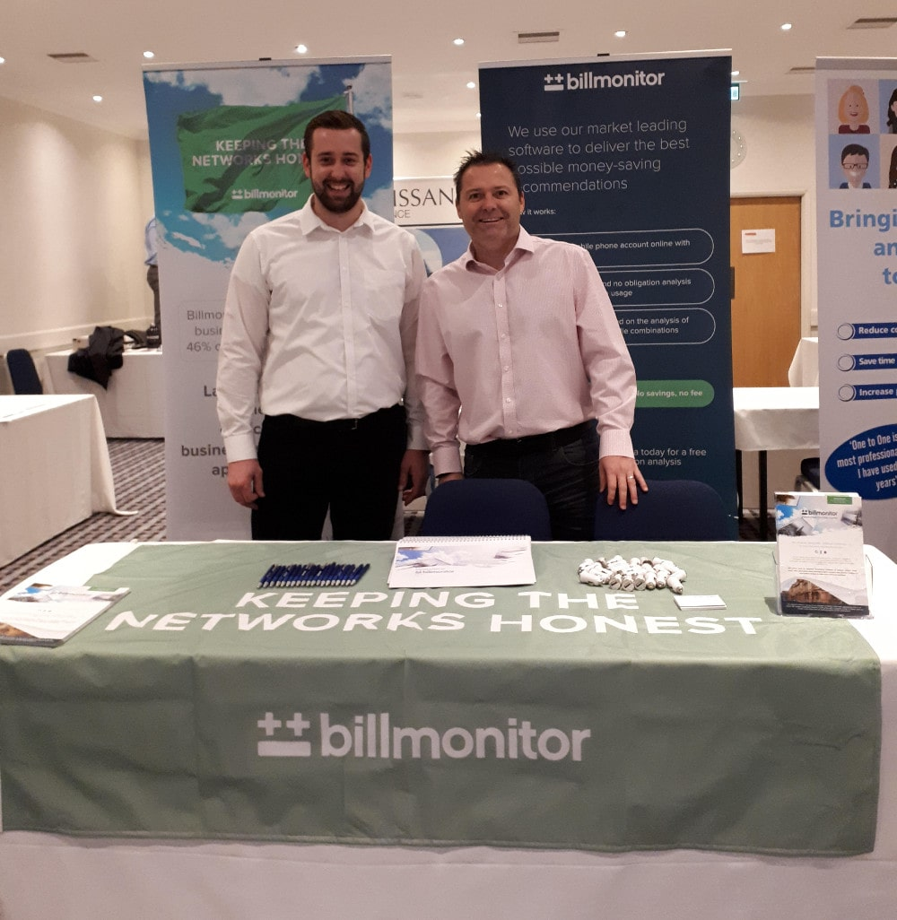 Billmonitor team at Basildon Business Expo 2018